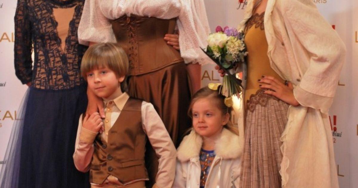 Снежана Егорова вывела детей на красную дорожку @ ТСН.ua