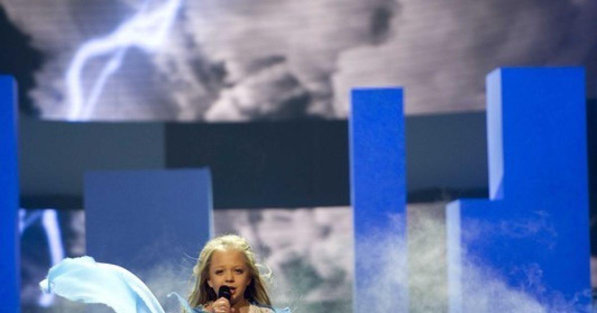 Настя Петрик победила на детском Евровидении @ Фото EPA/UPG