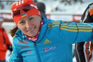 Українка фінішувала 4-ю у спринті на Кубку світу з біатлону