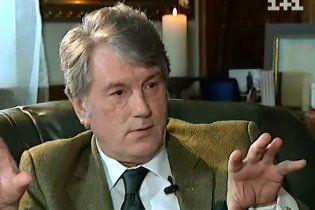 """Ющенко обвинил """"лживую"""" Тимошенко в своем ничтожном рейтинге"""
