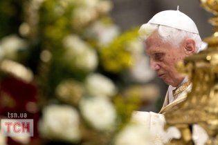 За тиждень після зречення Папи Рим хитнуло землетрусом
