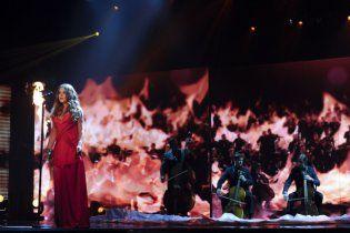 Могилевская едва не сгорела на съемках нового шоу