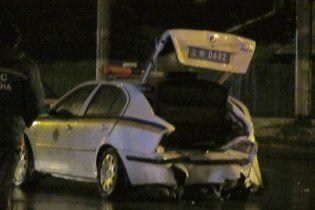 В Житомирі п'яний водій на ВАЗі на повній швидкості протаранив авто ДАІ (відео)