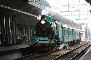 Закоханих на День Валентина покатають навколо Києва на ретро-поїзді