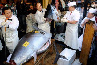 В Японії на аукціоні відвалили майже 2 мільйони доларів за рибину