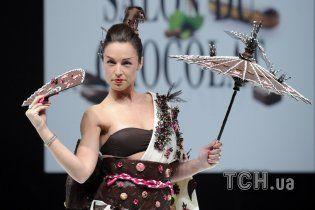 В Париже на подиум вышли модели, которых хотелось облизывать
