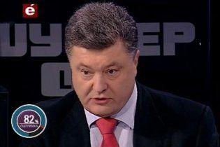Порошенко не готовий змагатися з Кличком за Київ