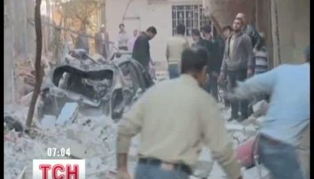 Щонайменше 56 людей загинули в результаті серії вибухів у Сирії