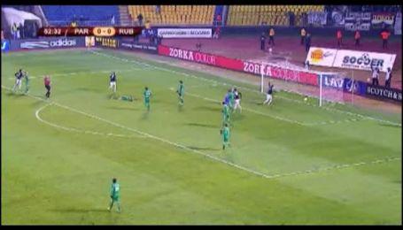 Партизан - Рубін - 1:0. Маркович