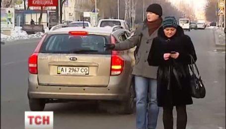 Маршрутчики Киевщины объявили забастовку