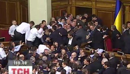 Парламентський трилер 7-го скликання