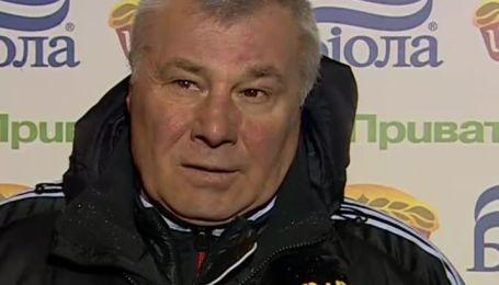 Анатолий Демьяненко про поражение своей команды