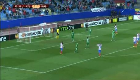 Атлетико - Рубин - 0:2. Видеообзор