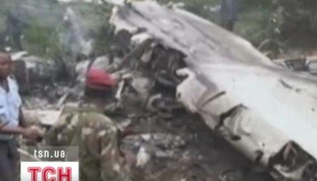 """У Конго розбився транспортний літак """"ІЛ-76"""""""