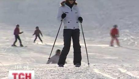 В Украине стартовал лыжный сезон