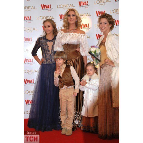 Сніжана Єгорова з дітьми на viva_3