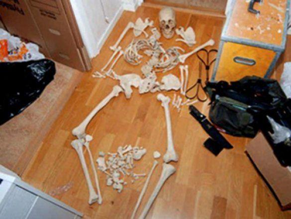 Женщина занималась сексом со скелетом видео