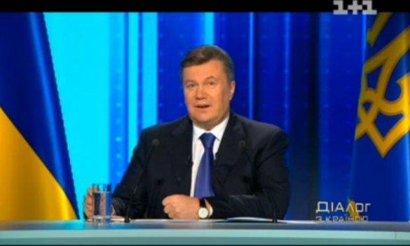 Янукович, прес-конференція, діалог 1