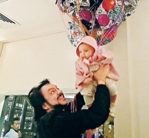 Філіп Кіркоров з донькою