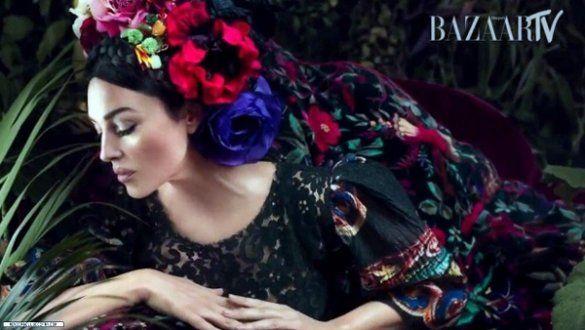 Моніка Беллучі для українського Harper's bazaar _1