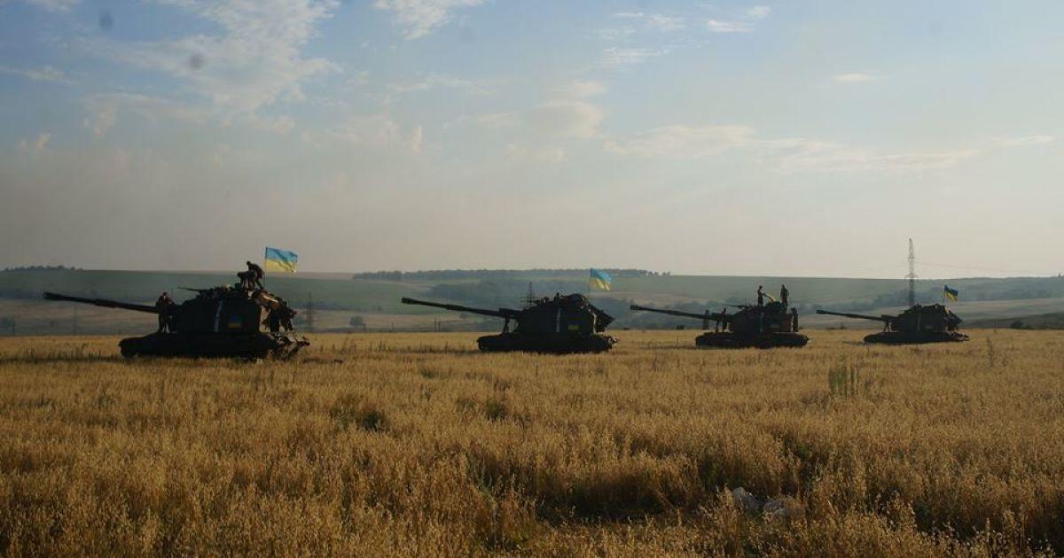 Почти идеальное перемирие в районе Горловки и непродолжительный бой под Мариуполем. Карта АТО