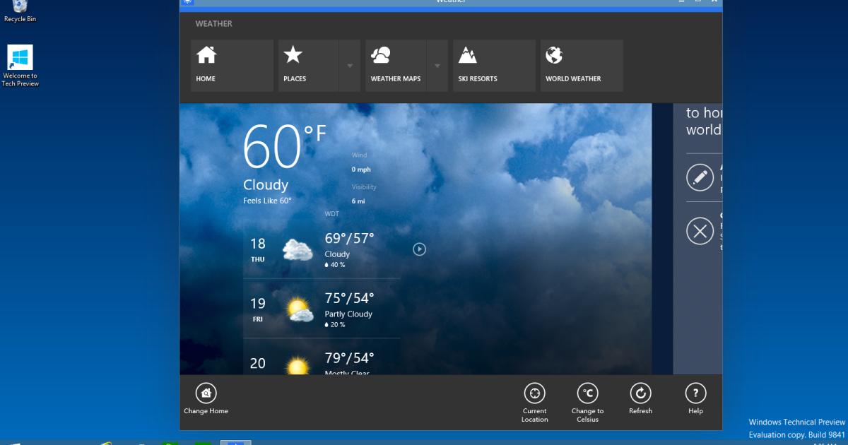 Microsoft представила Windows 10. @ microsoft.com