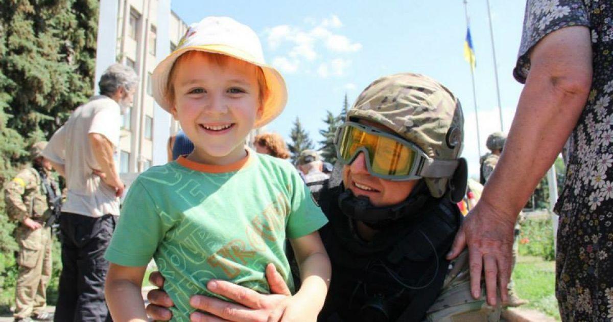 Українські військові звільнили Слов'янськ @ Міноборони України