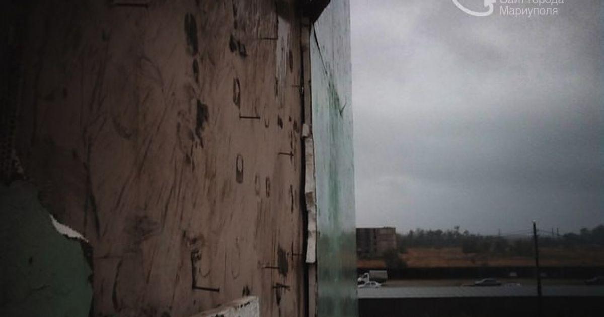 На Маріуполь напав шалений ураган. @ 0629.com.ua