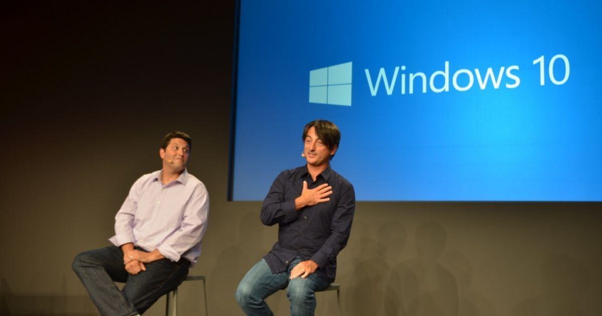 Презентація Windows 10. @ The Verge