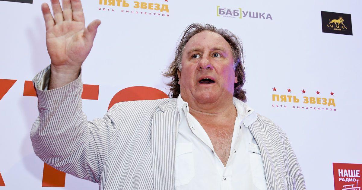 Депардье стал персоной нон грата в Украине