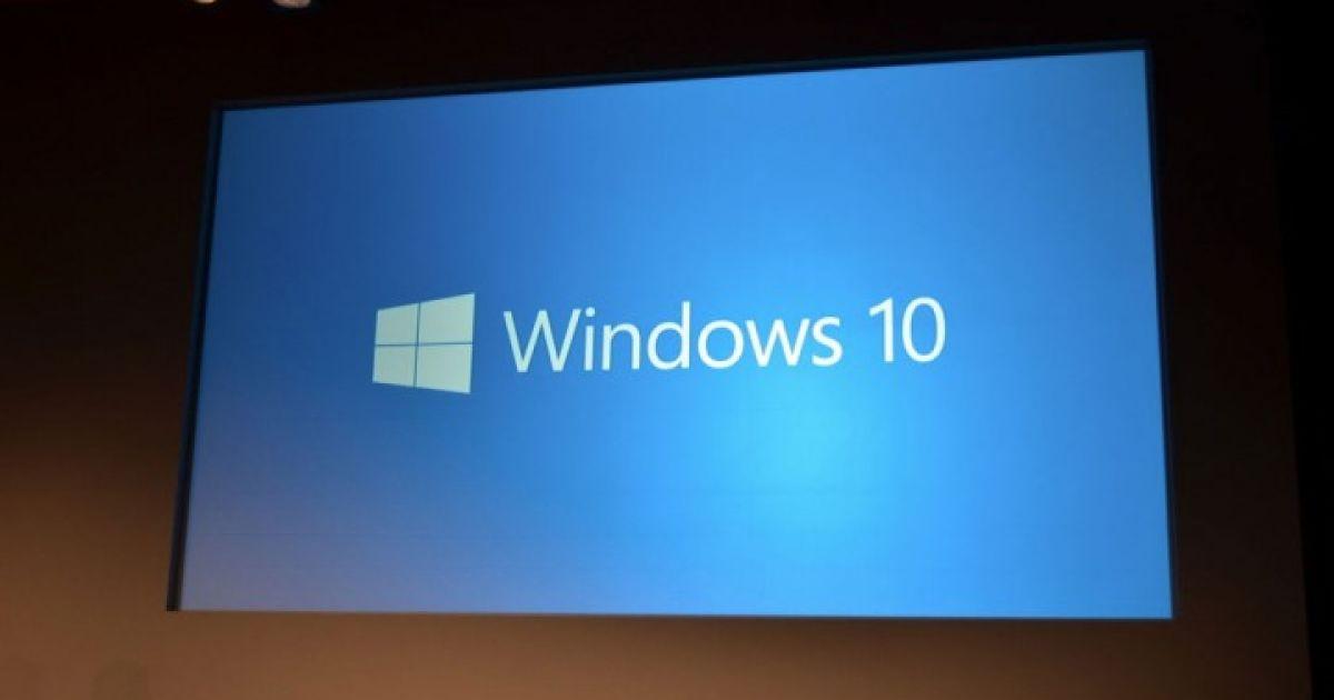 Microsoft представила Windows 10. @ The Verge