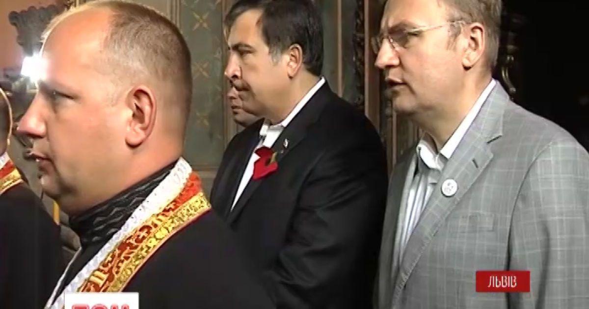Михаил Саакашвили сегодня