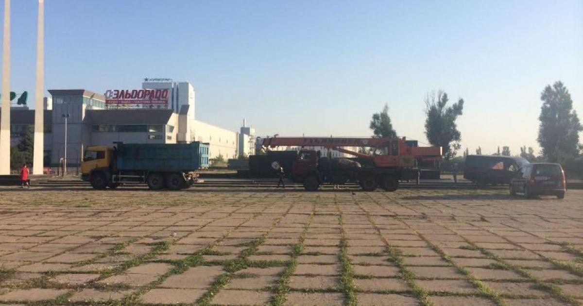 Мариуполь остался без главного Ленина @ 0629.com.ua