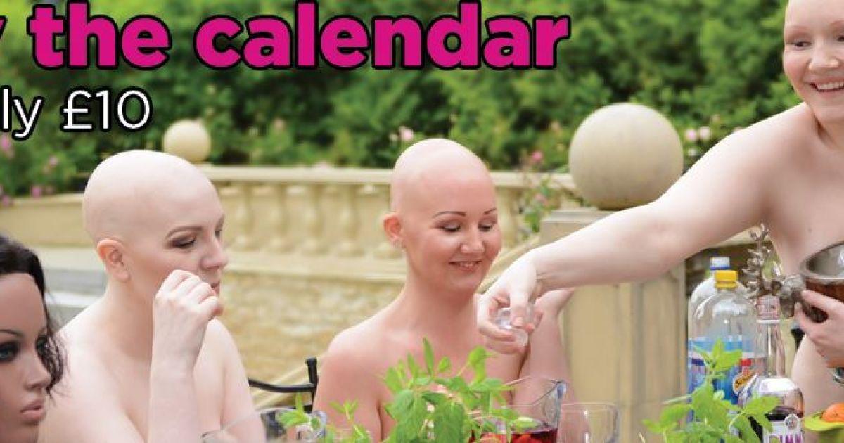 Британцы создали календарь с уникальными обнаженными моделями @ prettybald.co.uk