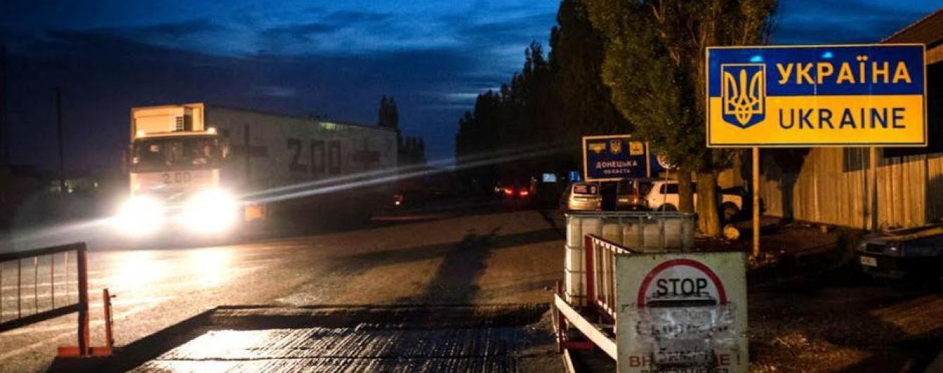 """""""Груз 200"""": наблюдатели ОБСЕ заметили вблизи оккупированного Донецка соответствующий фургон """"ДНР"""""""