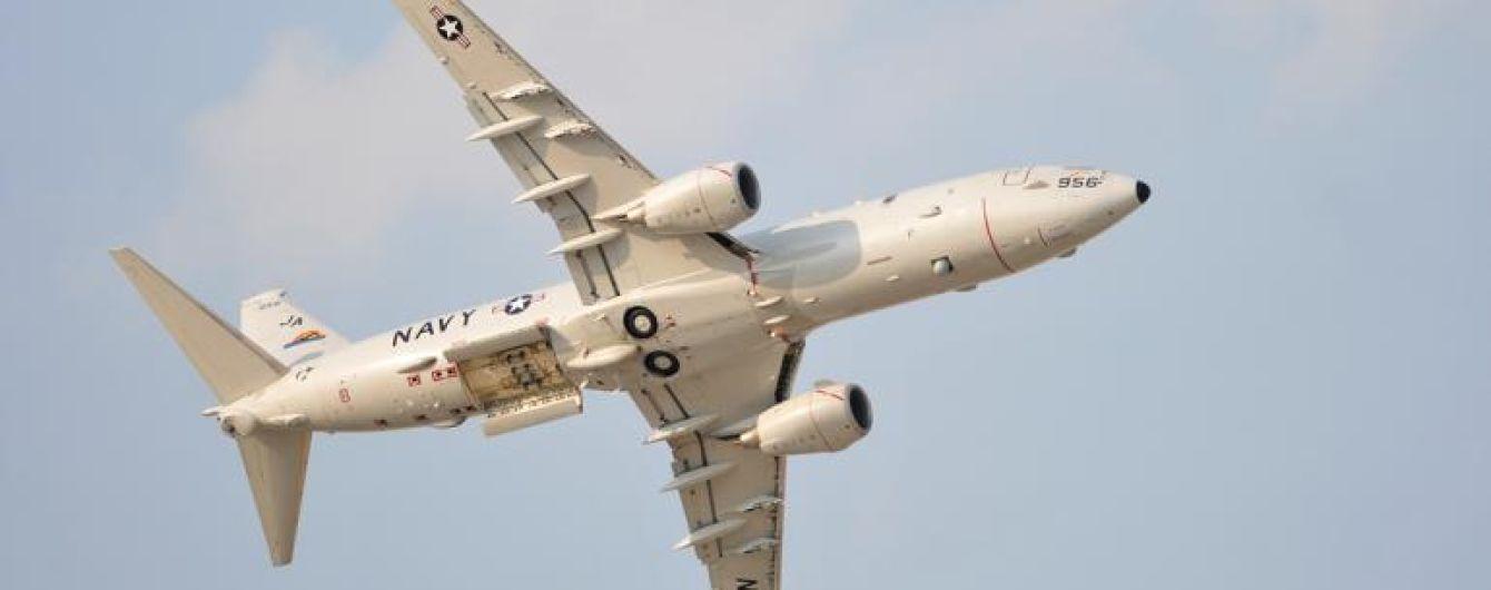 Самолет ВМС США провел разведку у берегов аннексированного Крыма
