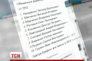Стали відомі імена 10 звільнених з полону українських військових