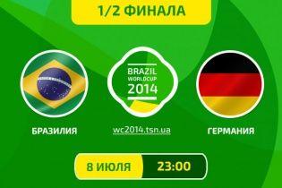 Бразилія - Німеччина - 1:7. Все про матч