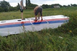 Boeing 777 з Малайзії розбився на території України недалеко від кордону з Росією