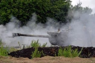 У Миколаївці військові знищили шість ворожих блокпостів, а терористи підпалили ТЕЦ