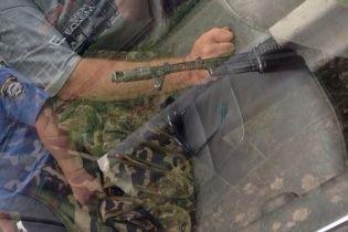 Під Дебальцевим затримали заблуканих бойовиків із арсеналом зброї