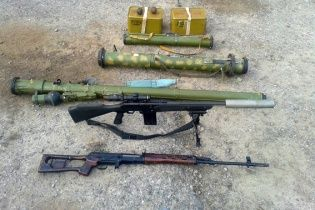 Бійці Нацгвардії знаходять у бойовиків новітні зразки озброєння, яких немає навіть в армії України