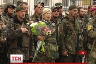 З зони АТО повернувся батальйон імені загиблого генерала Кульчицького