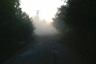 """Жителів Павлограда труять їдким смогом, який ночами """"виповзає"""" з-під землі"""