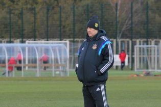Фоменко извинился перед игроками сборной Украины