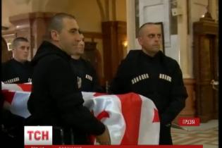Шеварднадзе похоронят возле жены во дворе их имения