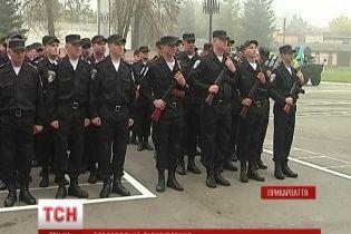 """Батальон """"Ивано-Франковск"""" возвращается в зону АТО с новым командиром"""