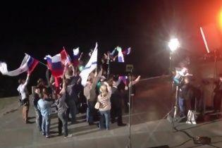 """""""Многотысячный митинг"""" в Севастополе сняли с помощью нескольких десятков людей"""