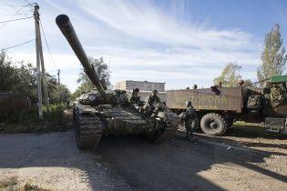 Боевики стреляли по ТЭС в Счастье из танков прямой наводкой