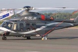В России нашли вертолет, на котором Янукович улетал из Межигорья